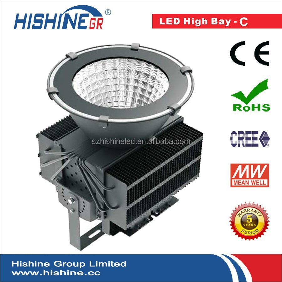 High thermal conductivity energy saving 500W led high bay