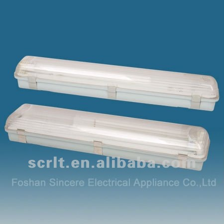 T8 IP65 waterproof luminaire fluorescent lighting fixture