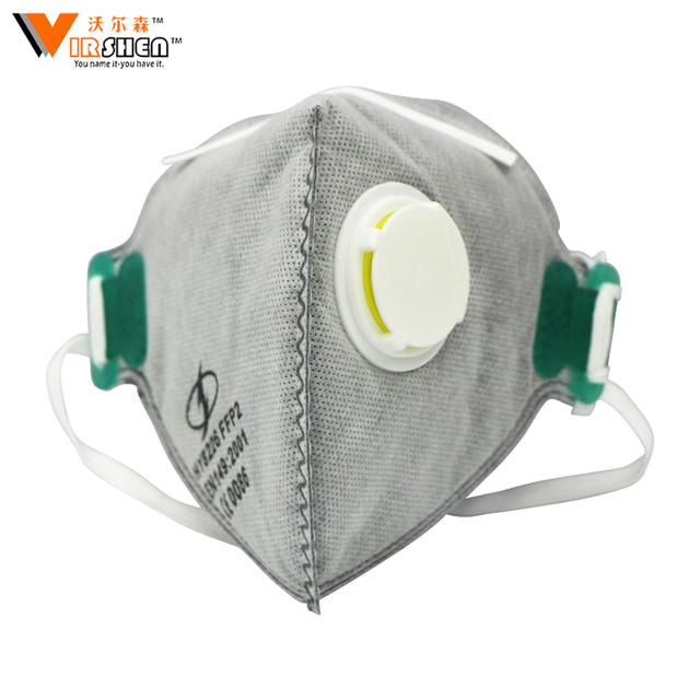 Hot selling cheap price air filter anti smoking cycling dust respiratory mask face shield