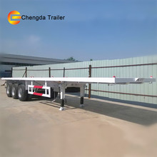 Gooseneck 3 Axle Flatbed Trailers For Sale