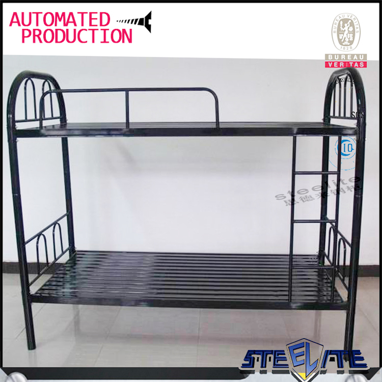 Cheap price dubai double bed design furniture metal double deck bed design