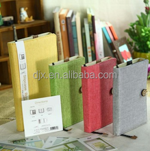 PVC exercise with different sizes self adhesive transparent book cover
