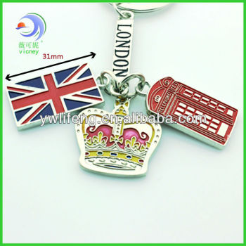 metal key chain for England market (xuk-189)