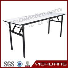 Modern deisgn wholesale steel tube square meeting table YCX-T07