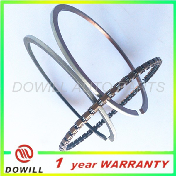 76mm piston rings fit for Japanese car of 2A piston rings