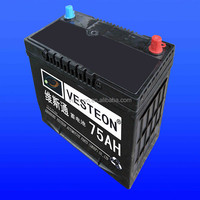 Japan standard MF 12v50ah car battery