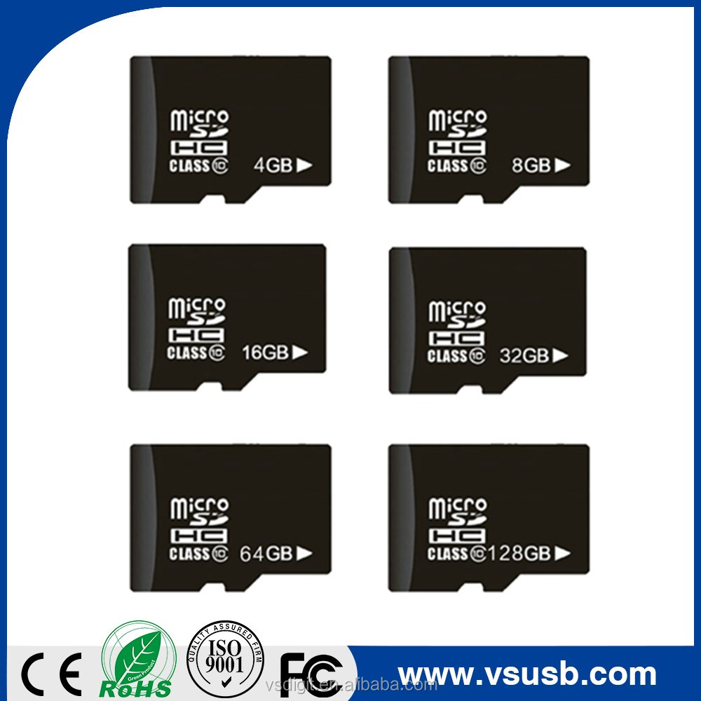 High quality 1GB 2GB 4GB 8GB 16GB micro memory sd cards