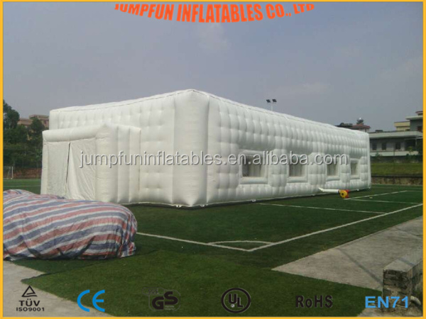Giant inflatable tent for events/Cube air building/Huge inflatable structure for custom