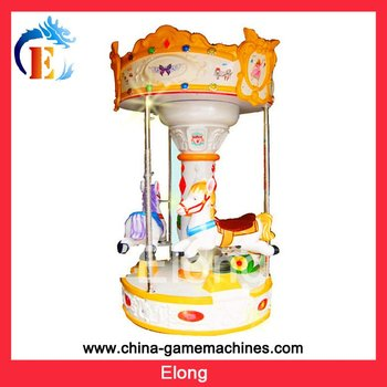 KR-EL1558 Pony Carousel Rotating Horse amusement equipment