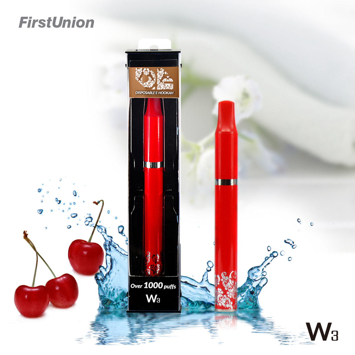china new innovative product hookah pen shisha W3 fresh fruit flavors electronic cigarette dubai