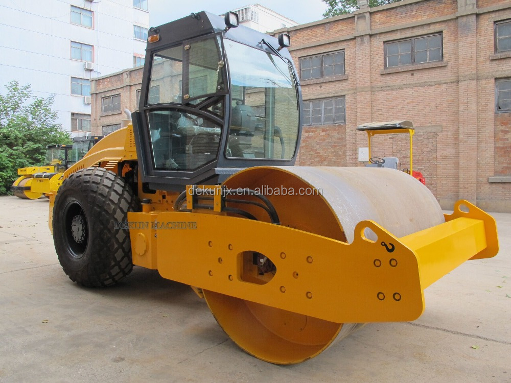 Asphalt Road Used Single Smooth Drum Vibratory 10 Tons Road Roller Compactor For Sale