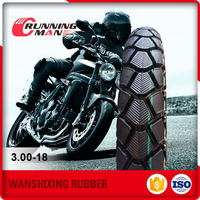Factory price 3.00-18 used motorcycle tyre
