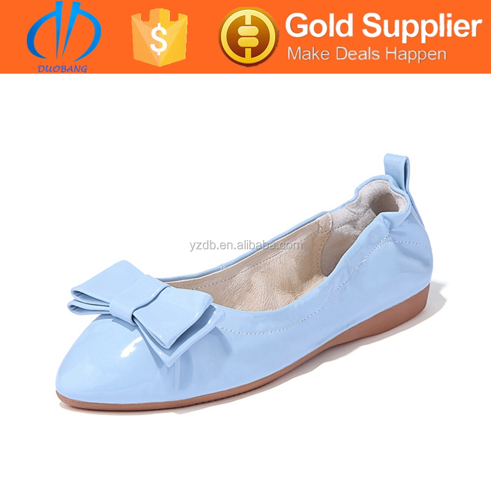 popular high quality 2015 ladies flat shoes