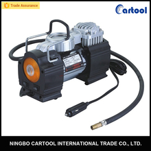 12V 150psi metal portable mini air compressor with flash light