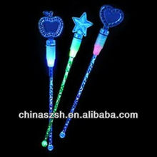 bar tool flashing LED glowing plastic bright stirrer for night