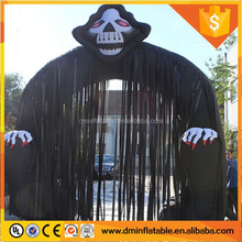 Customized inflatable halloween arch air blown lighting halloween inflatable ghost arch