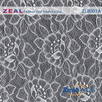 Eco-Friendly mesh custom design embroidery lace fabric