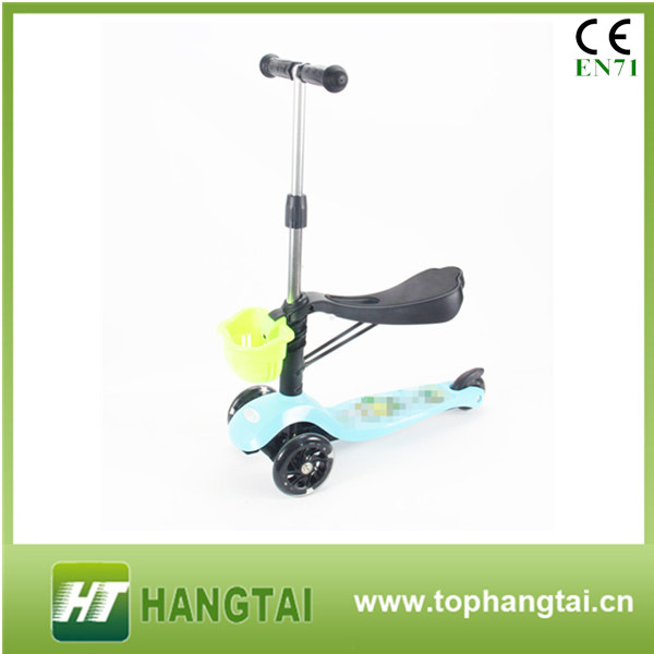 <strong>3</strong> in 1 <strong>o</strong>-bar mini kick scooter with seat , mini kick scooter , three wheel kick scooter