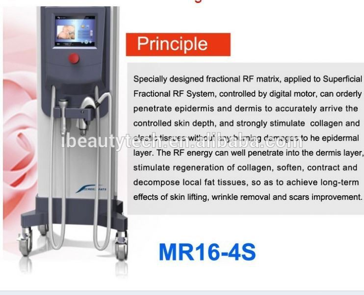 vaporizer facial equipment beauty machine/Personal care magic hands beauty equipment/Microneedle Fractional RF machine
