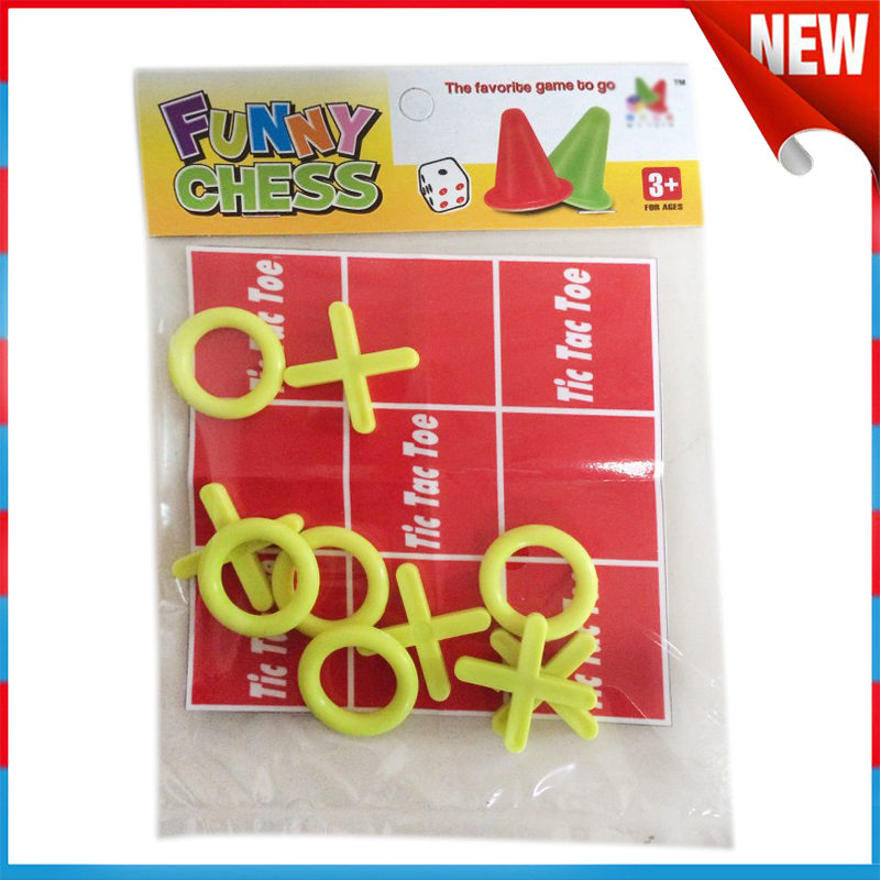 Funny Baby Toys Plastic Tic-Tac-Toe chess game