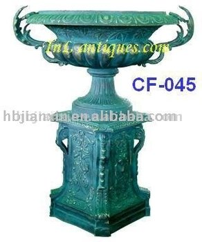Cast Iron Planter, Cast Iron Urn, Cast Iorn Flowerpot