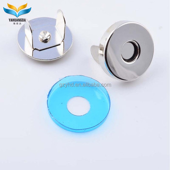 decorative metal magnetic snap button covers for jeans