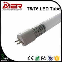 2016 new glass t6 led tube light, replacement of t5 fluorescent tube