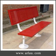 Arlau Cast Iron Furniture Bench Leg, Tubular Steel Outdoor Furniture, Wood Cast Iron Bench
