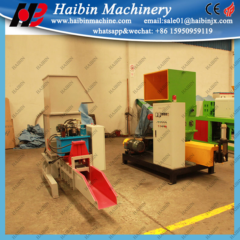 machine for EPS XPS recycling