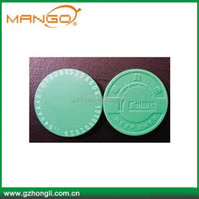 Customized Plastic Token RFID Coin Tag rfid disk tag 25mm special offer