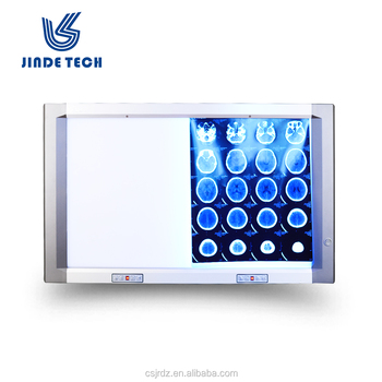 China negatoscopio LED, single Double bank JD-01BIII X ray medical LED negatoscope