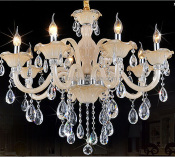 Baccarat Style Luxury Crystal Chandelier in Multiple Colors