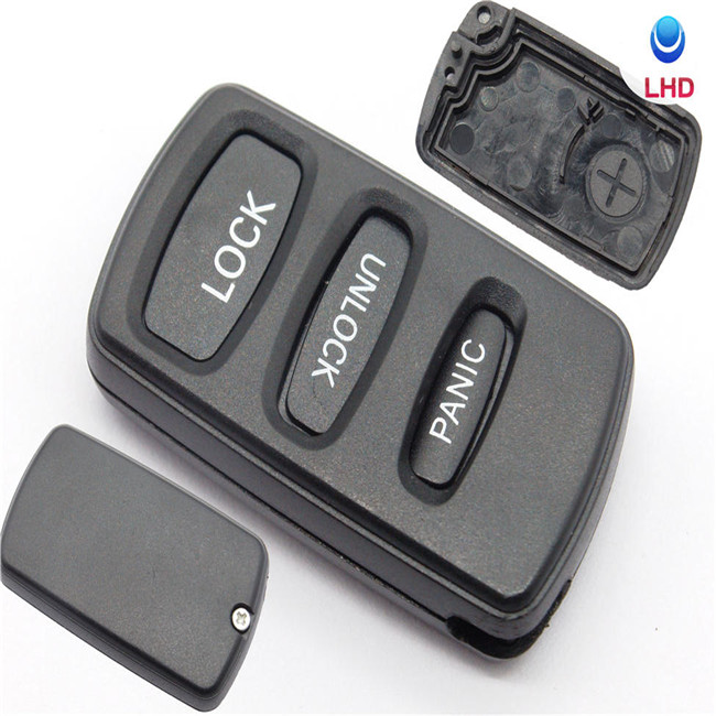 3 Buttons Remote Control Key Shell Case For Mitsubishi Lancer Outlander Pajero V73 Galant Fob Key Cover