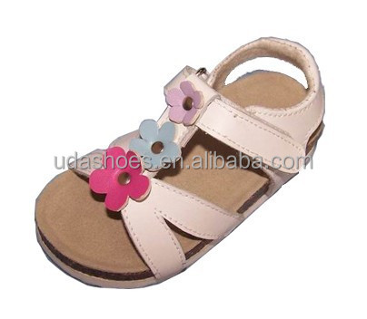 2017 vent PU upper fully adjustable strap EVA sole thong sandal in a variety of material and colors summer children sandal C1321