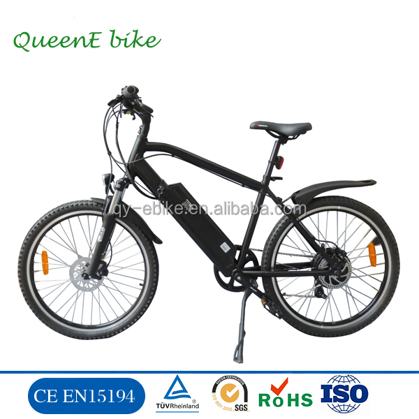 mtb mountain electric bike/e bicycle ebike with rear wheel hub motor