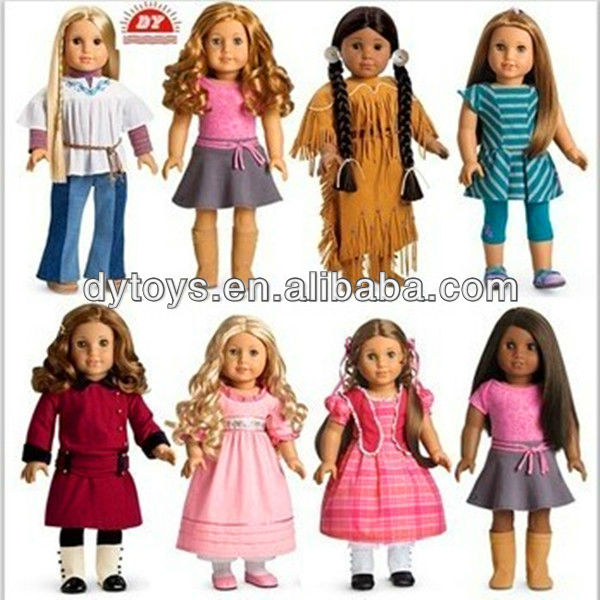 ICTI certificated custom make vinyl american girl doll factory