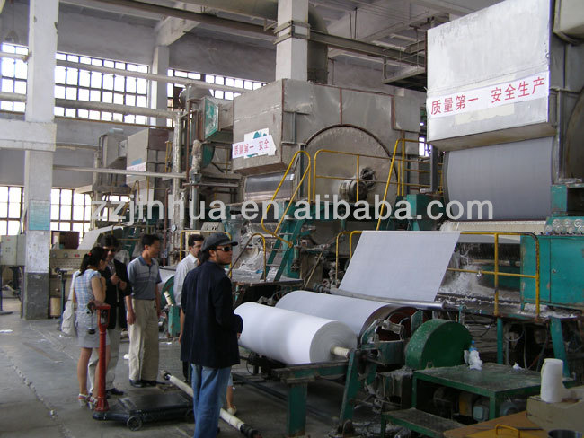 Best price 1575mm Toilet Paper Making Machinery,waste paper raw material