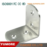 stainless steel small size corner home outside decor bracket for construction