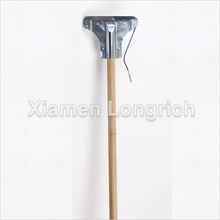 Cleaning Tools Bamboo Jaw Mop Stick with Metal Head
