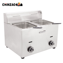 KFC Equipment Gas Belshaw Chips Fryer Commercial Gas Oil Fryer