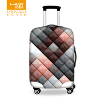 HUGSIDEA Custom Luggage Cover,Spandex Luggage Cover,Clear Luggage Cover
