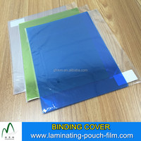 100mic 125mic 200mic Colorful a3 a4 Thermal Book Binding Cover Sheets Transparent PVC Sheet
