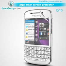 Cheapest! Factory price High clear screen protector for Black Berry Q10
