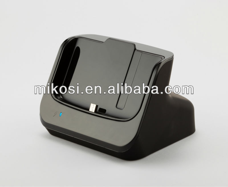 2013 New Arrival Desktop Cradle for samsung i9200 with detached case available
