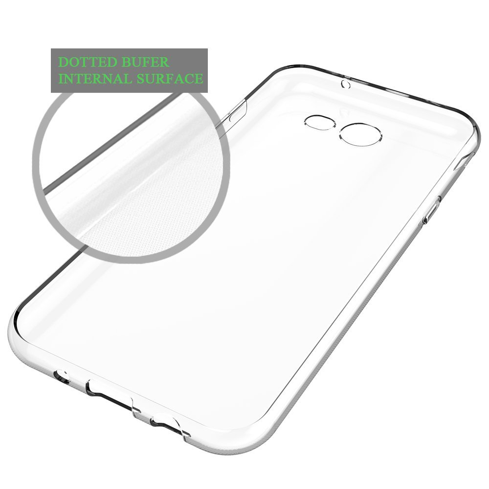 For Samsung J7 2016 Case, Soft TPU Transparent Ultra Slim Fit Clear Cellphone Cover Premium Protective Cover for Galaxy J7 2016