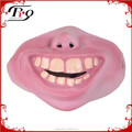 Fancy dress stag props big teeth funny half face mask