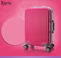 China Guangzhou made travel cool hardshell suitcase Luggage with trolley
