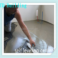 High performance fine powder TD Building super self level flooring cement and cement price