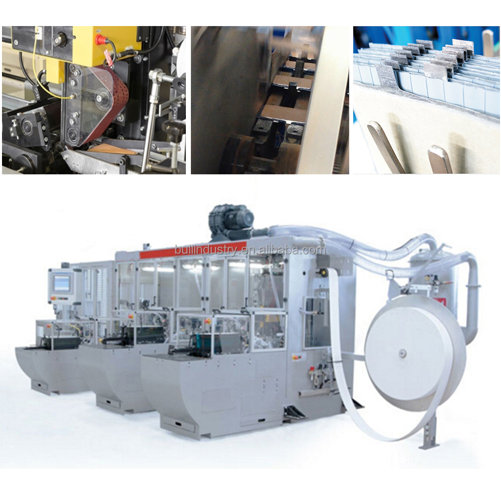 Car Battery Production Machine Automatic Electrode Plates Enveloping and Stacking Line