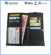 "Universal Wallet Leather Case Bag Pouch with touchable screen card slot for Mobile phones 4.0-5.0-5.5"" inch mobile phones"